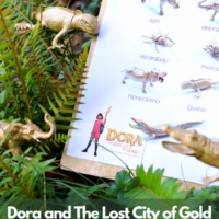 Spanish Language Animal Scavenger Hunt Inspired by Dora And The Lost City Of Gold