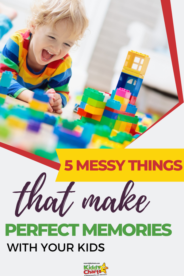 Why not try put these 5 messy things that make perfect memories with your kids?