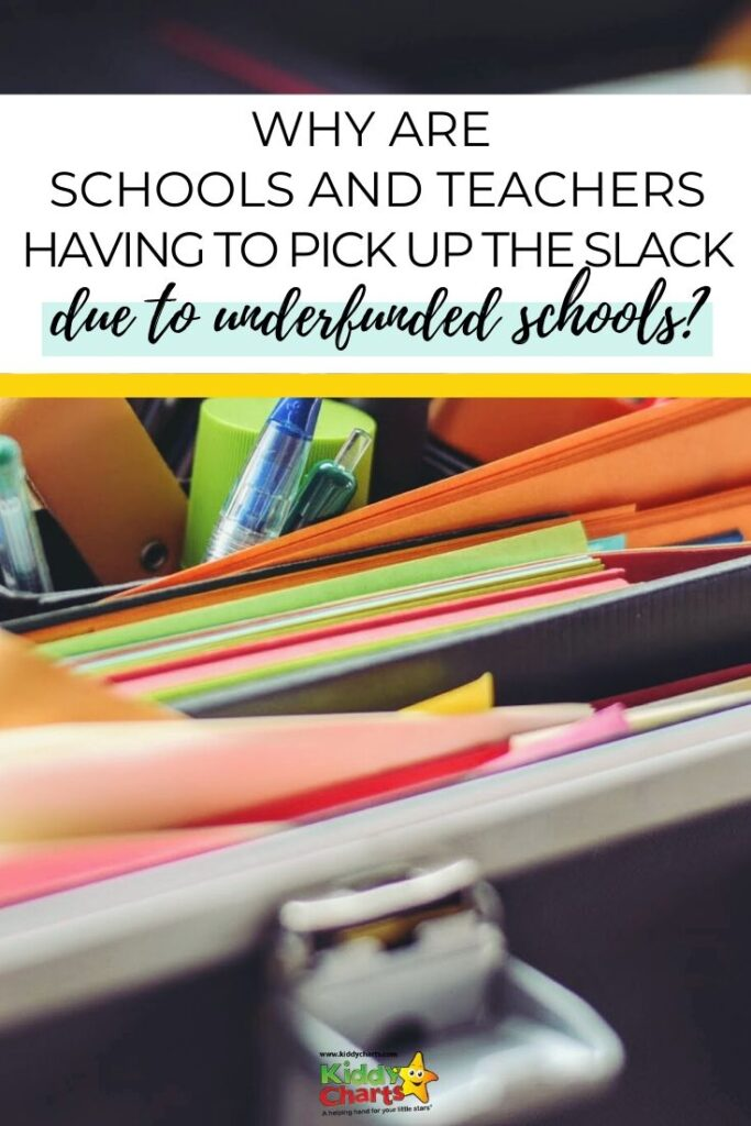 Why are teachers and students having to pick up the slack of our underfunded schools?