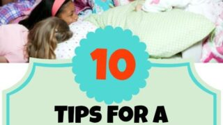 10 top tips for successful sleepovers