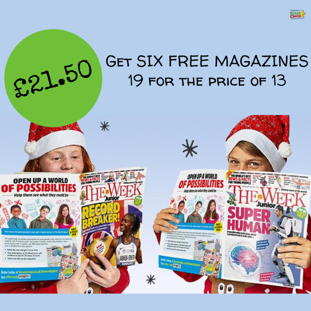Check out this fantastic The Week Junior subscription!