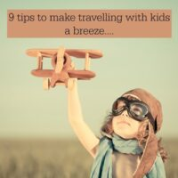 Nine tips to make travel with kids a breeze