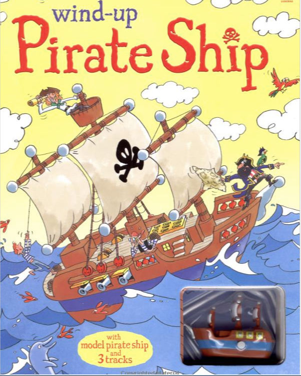 Wind-Up Pirate Ship book cover