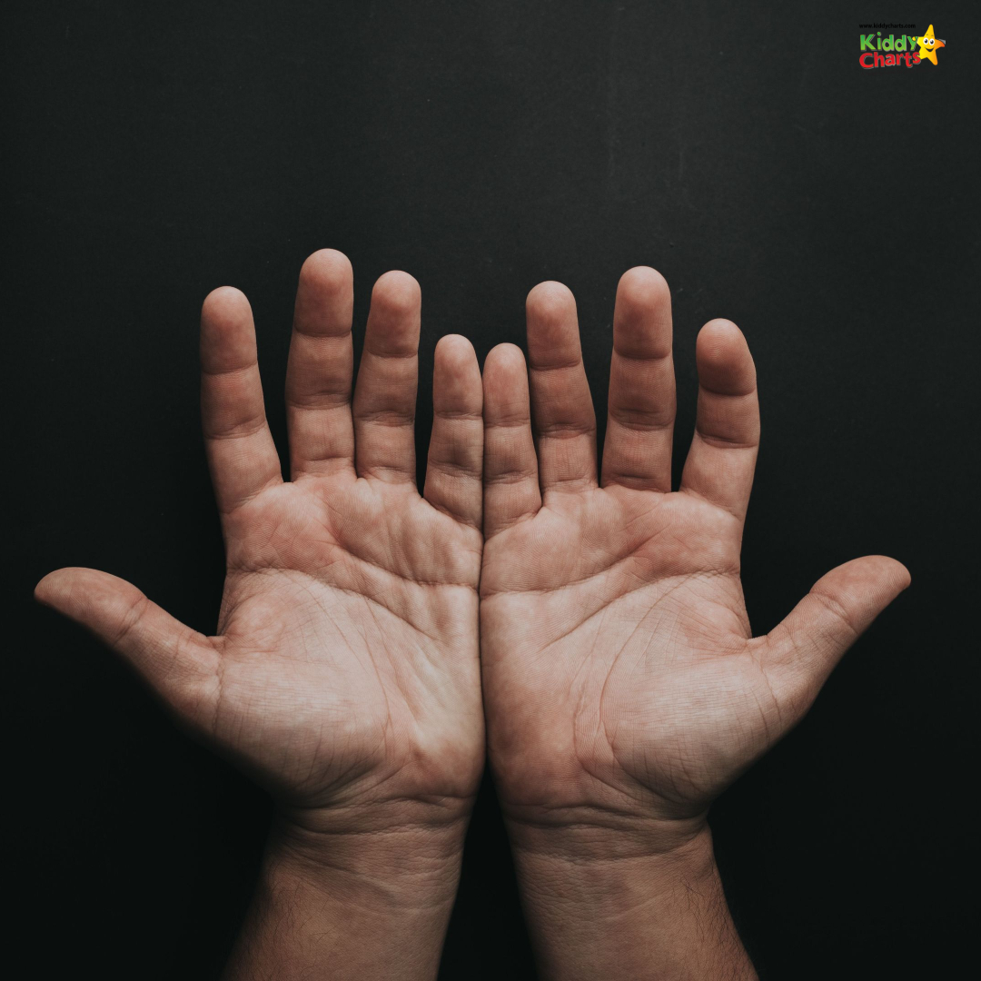 myths about influencers: a person's hands
