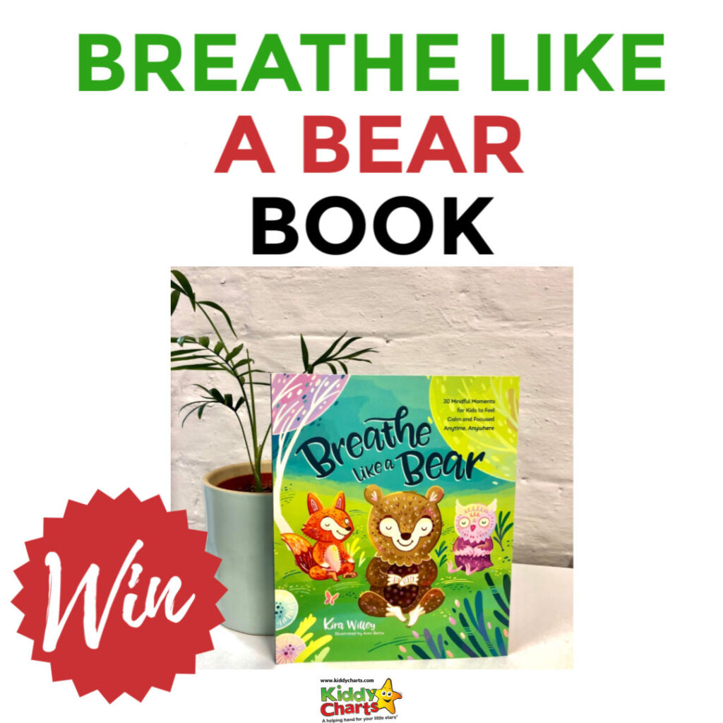 We are delighted to be partnering with Trigger Publishing to offer this gorgeous Breathe Like a Bear mindfulness kids book in our first giveaway of 2020!