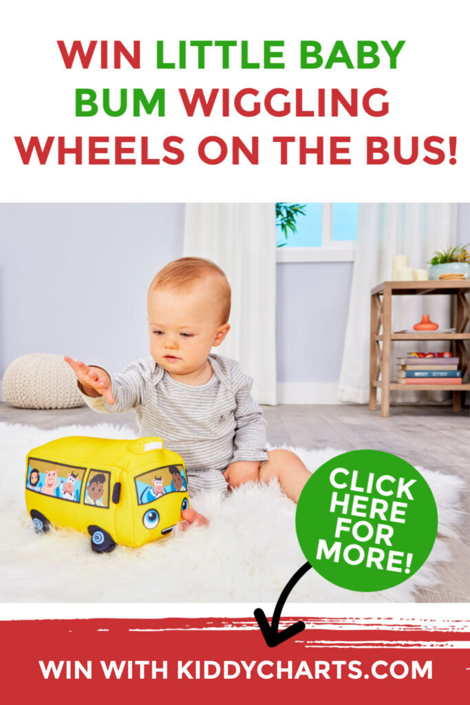 little baby bum wiggling wheels