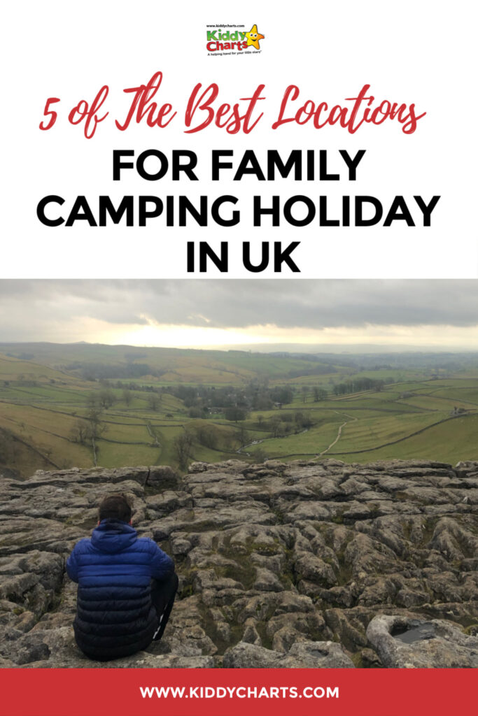 Do you know where is best to go within the UK for a great camping holiday? If you don't we have picked 5 of the best locations for family camping holidays in the UK