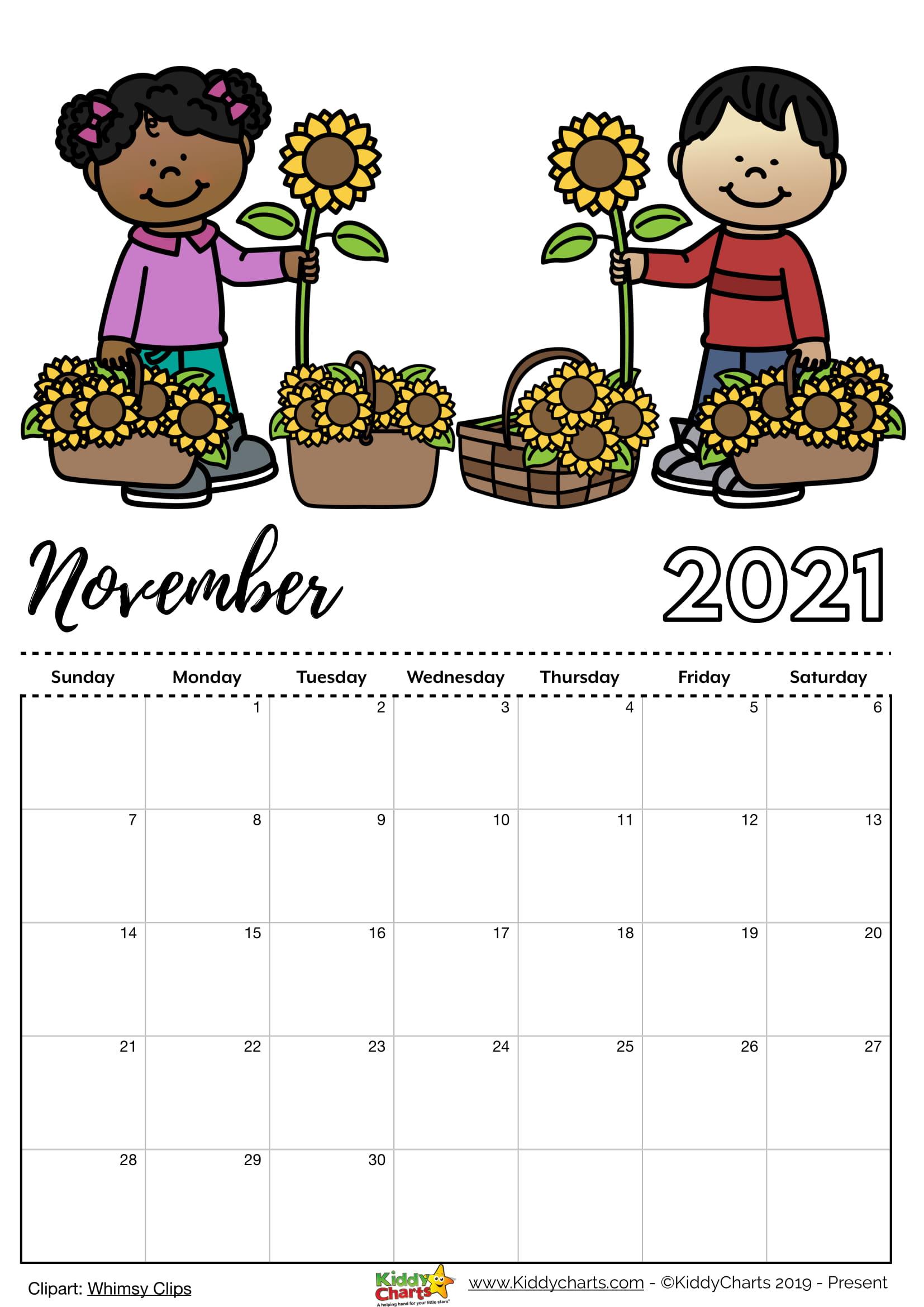 Charts 2021 November