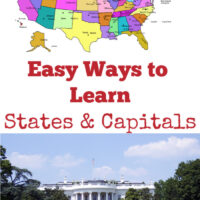 Easy Ways to Learn States and Capitals -