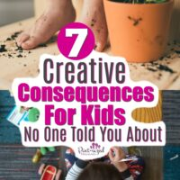 Seven Creative Consequences for Kids No One Told You · Pint-sized Treasures
