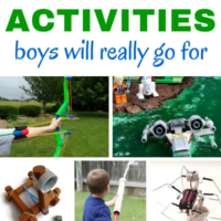 25 Spring Break Activities for Boys - 25 Hands-on Ideas They Will Love