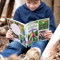 Sticks and Stones Outdoor Activity Book for Kids