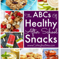 The ABCs of Healthy After School Snacks