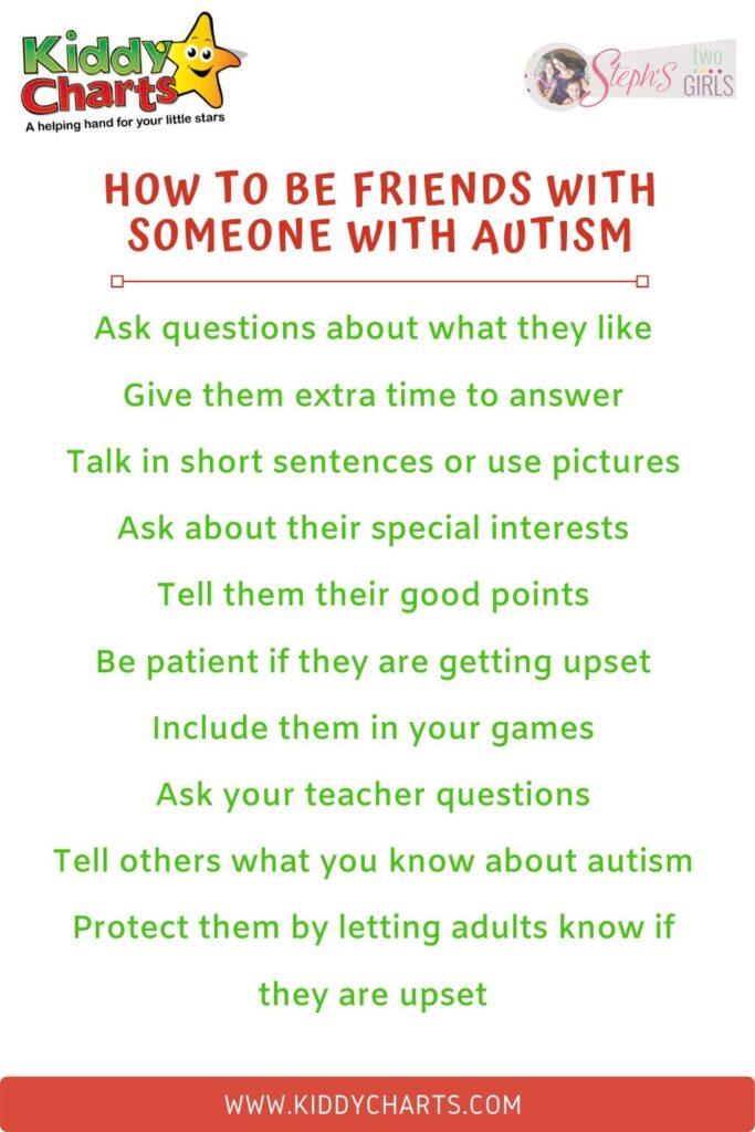 How to explain autism to children .