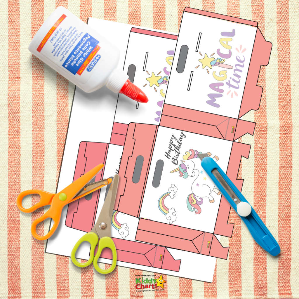 You're going to love the printable unicorn party box activity we have to share today!