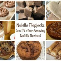 Nutella Flapjacks (and 19 other amazing Nutella recipes)....
