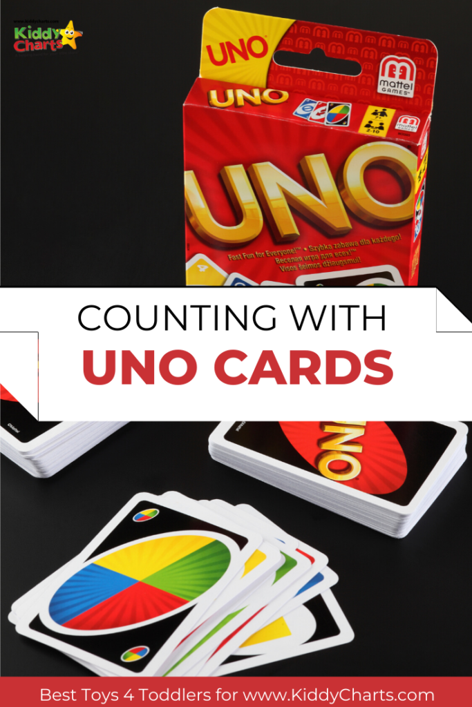 Counting with Uno cards!