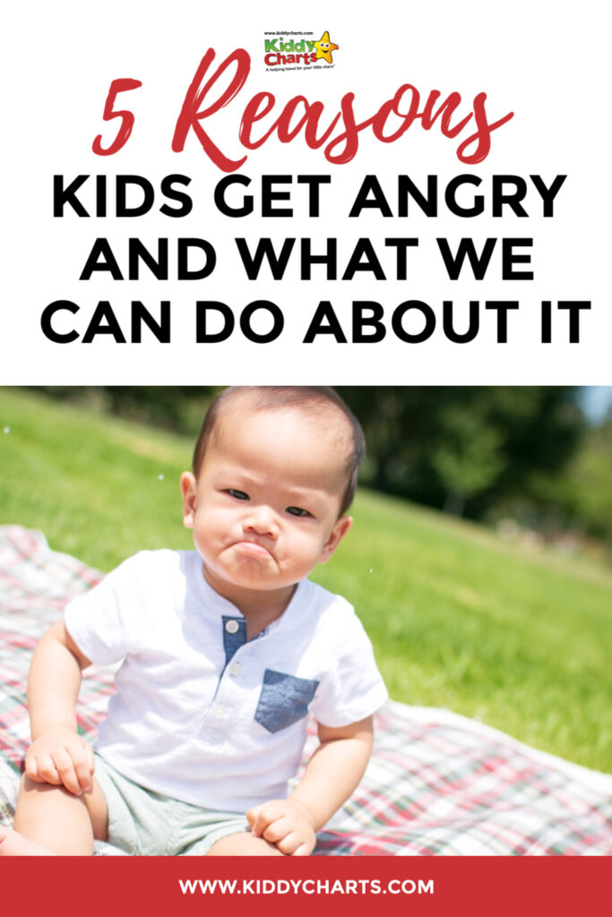 Reasons kids get angry