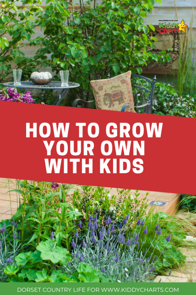 how to grow your own with kids