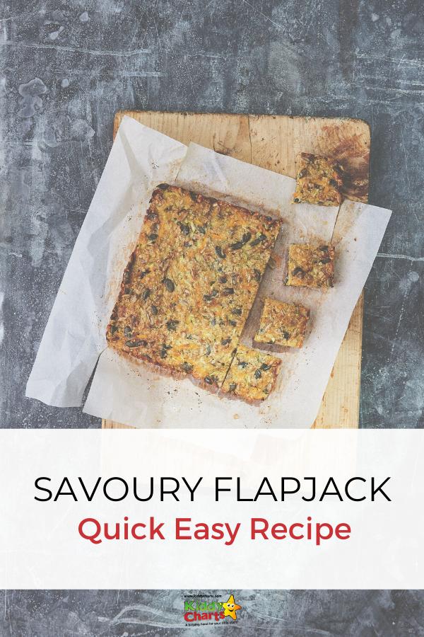 Make Savory Flapjack