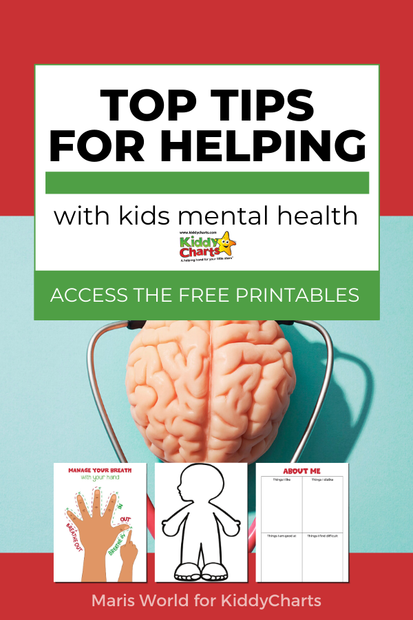 Top tips for helping with kids mental health