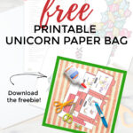 unicorn party box activity