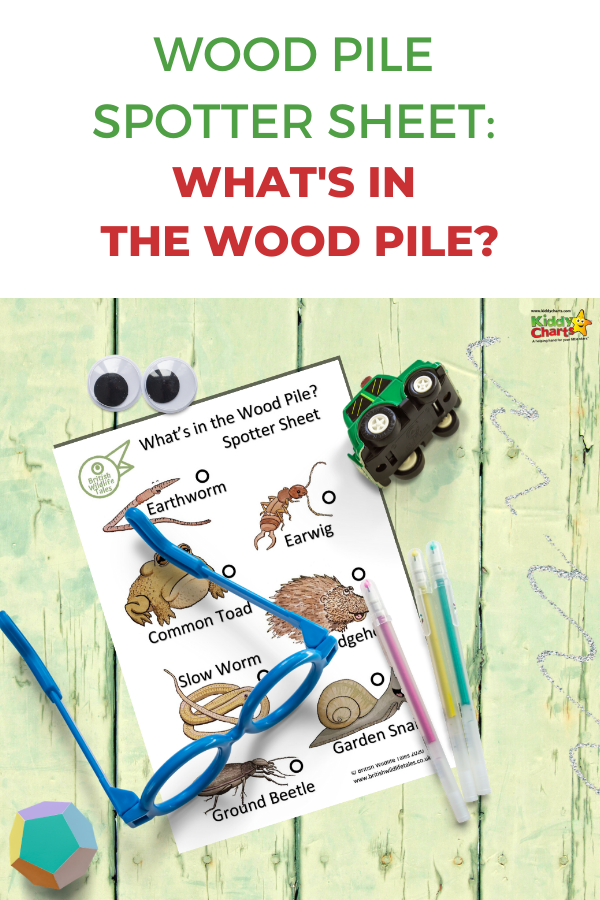 What's in a wood pile spotter sheet?