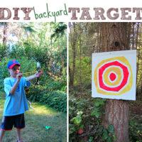 Kid Made Archery Target