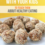 make energy balls with your kids