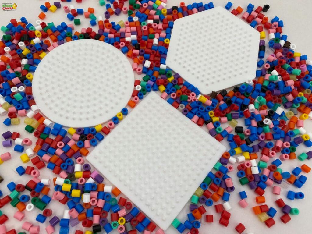 How to make hama bead coasters