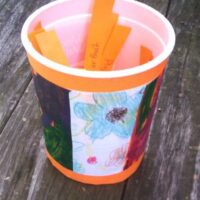 Ideas to entertain kids outside - in an activity jar! (part 1)