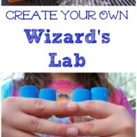 Wizard Fun: Make your own Alchemy Lab