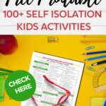 Self isolation kids activities: 100+ things to do #31DaysOfLearning