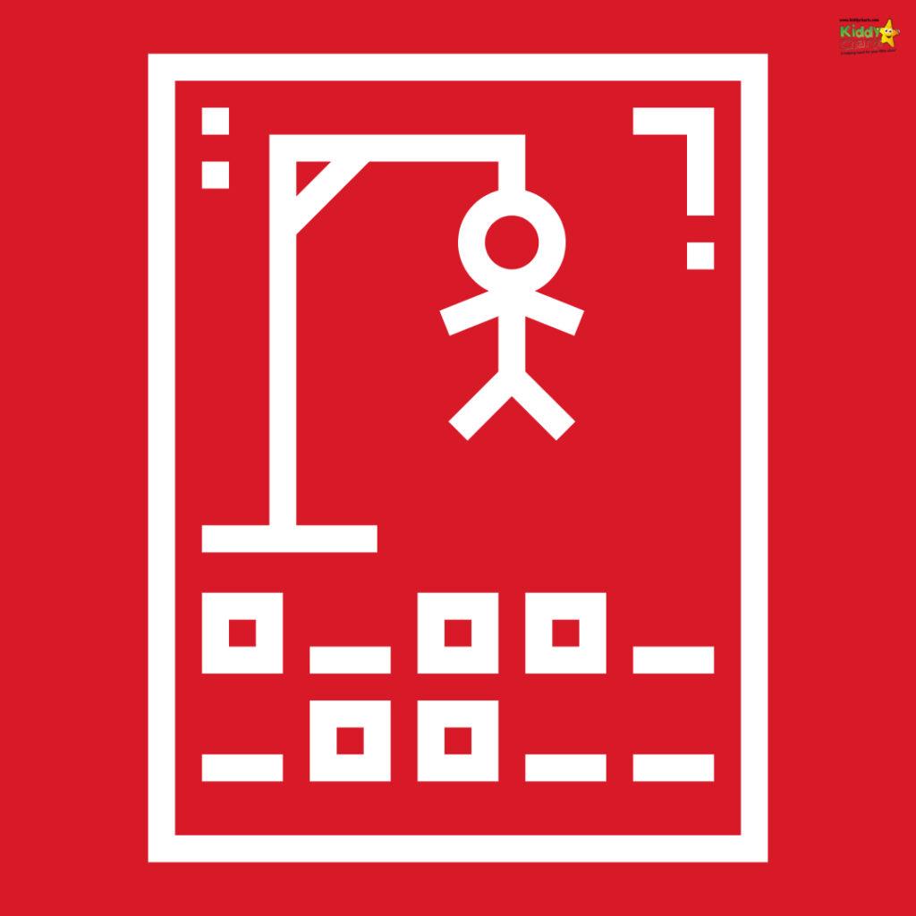 Hangman fun word game
