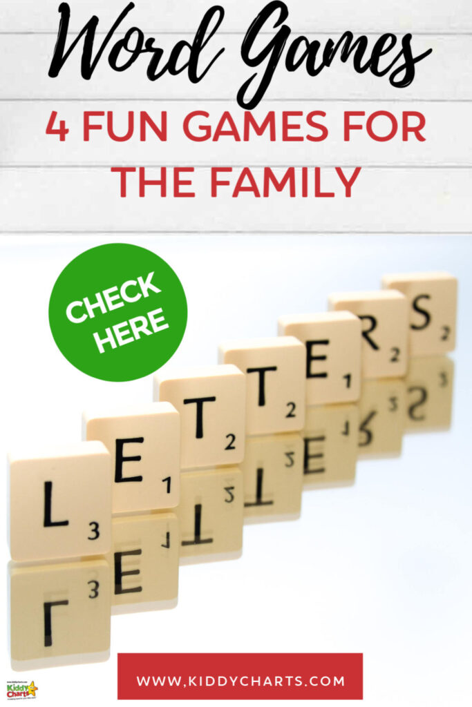 4 Fun word games to play as a family
