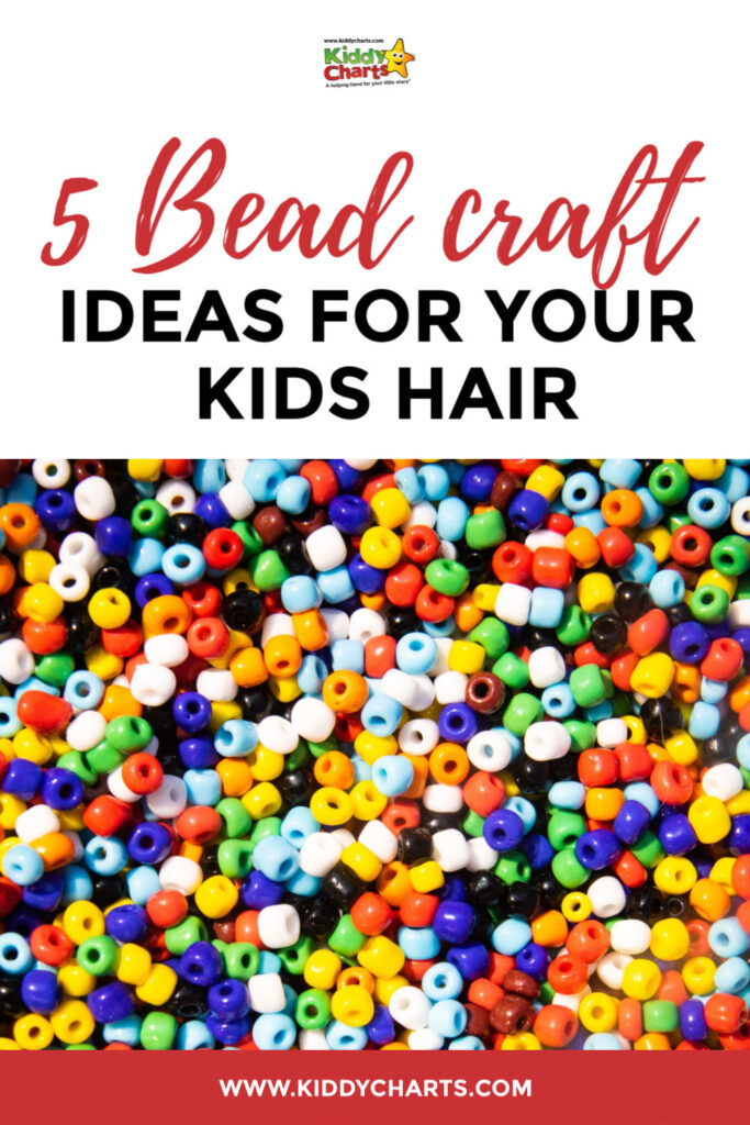 bead craft ideas for your kids hair