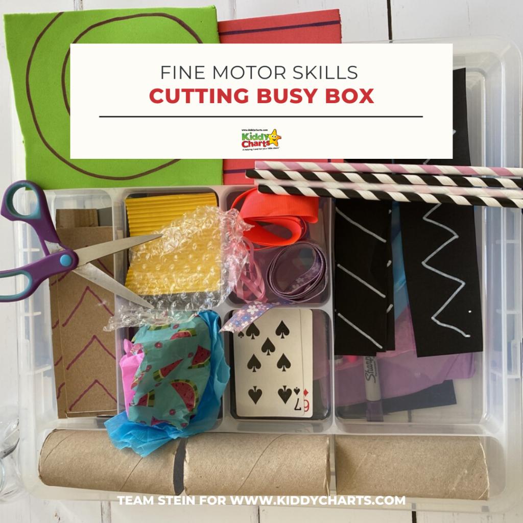 motor skills busy box