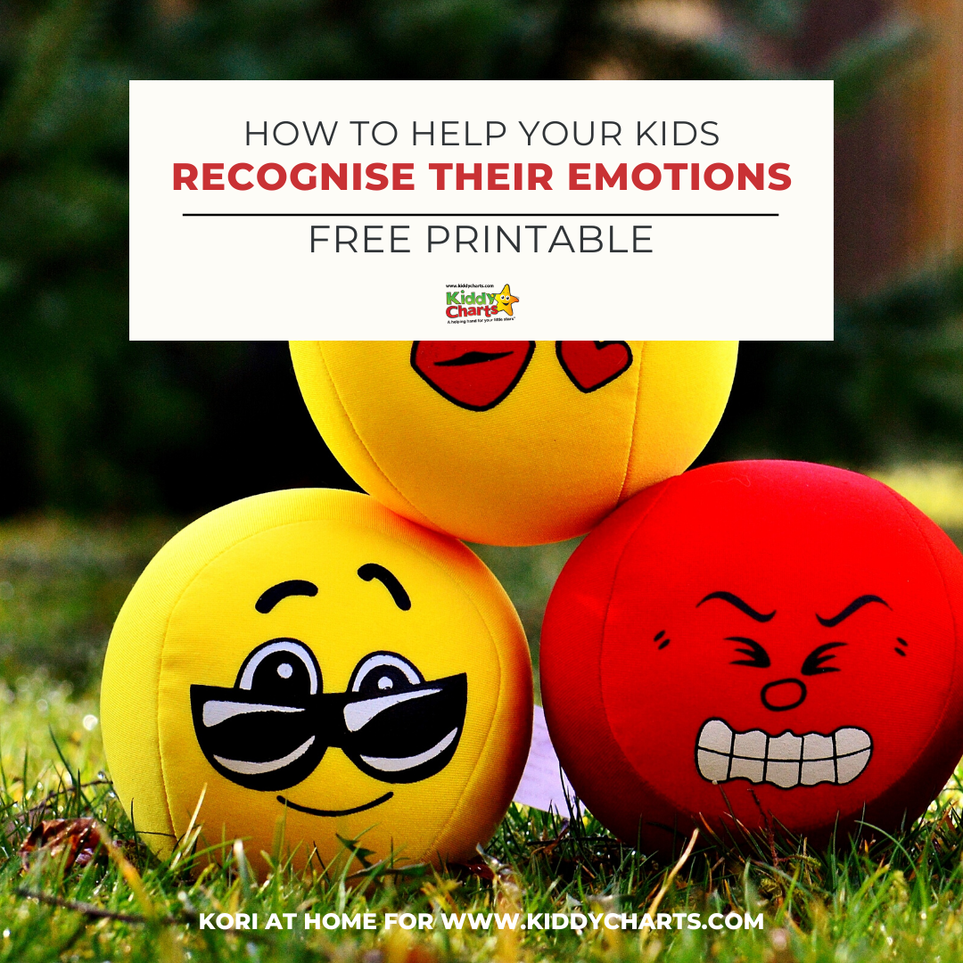 How to help your kids recognise their emotions #31DaysOfLearning