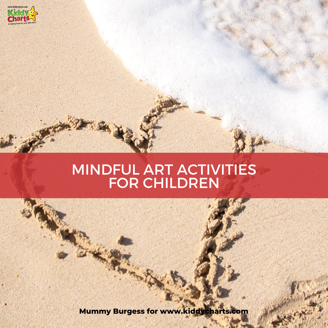 Learn about mindful art activities for kids with us at Kiddy Charts!
