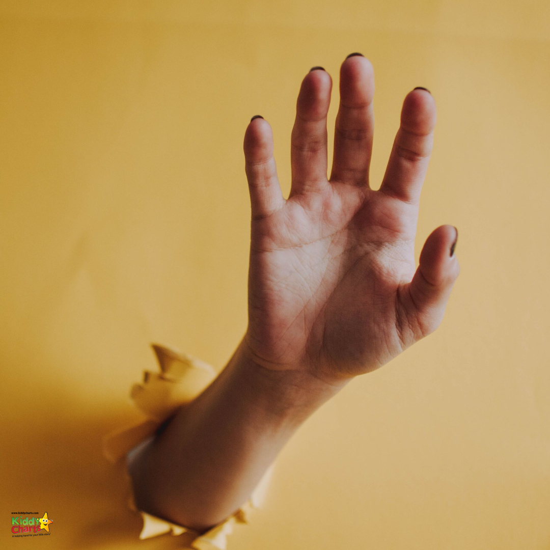 palm of the hand familys mental health while indoors