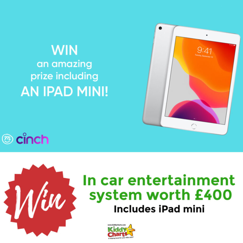 Win a mini iPad and in car entertainment system worth £400