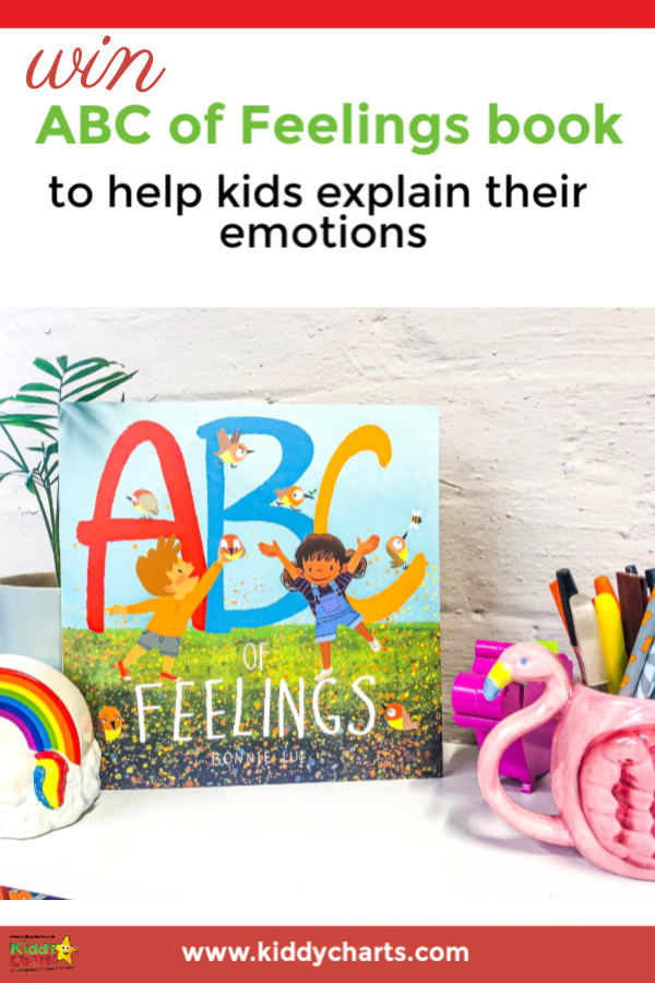 Win ABC of Feelings book to help kids explain their emotions