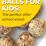 Welcome to the first day of 31 Days of Learning! Learning to make energy balls with your kids is a fantastic way to teach them about healthy eating! #31daysoflearning #healthyeating #kiddycharts #energyballs #makeenergyballs #teachhealthyeating #learning #goodeducation #healthysnacks #bestsnack #kidsenergy
