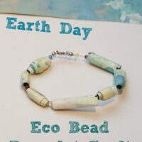Earth Day Eco Bead Bracelet Craft
