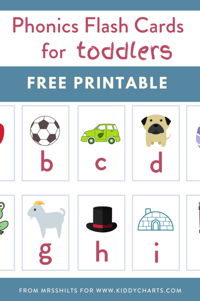 free phonics flashcards for toddlers