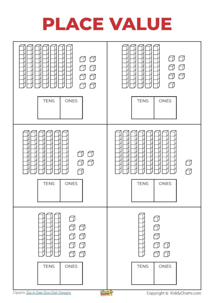 place value free printable