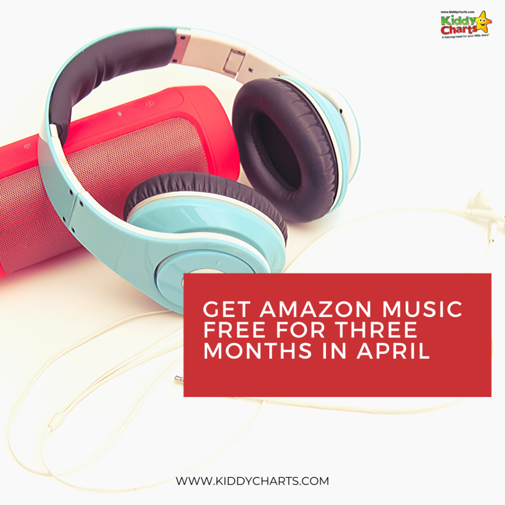 Amazon music free for three  months