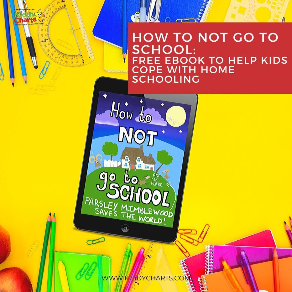 How to not go to school - Free eBook to help kids cope with homeschooling