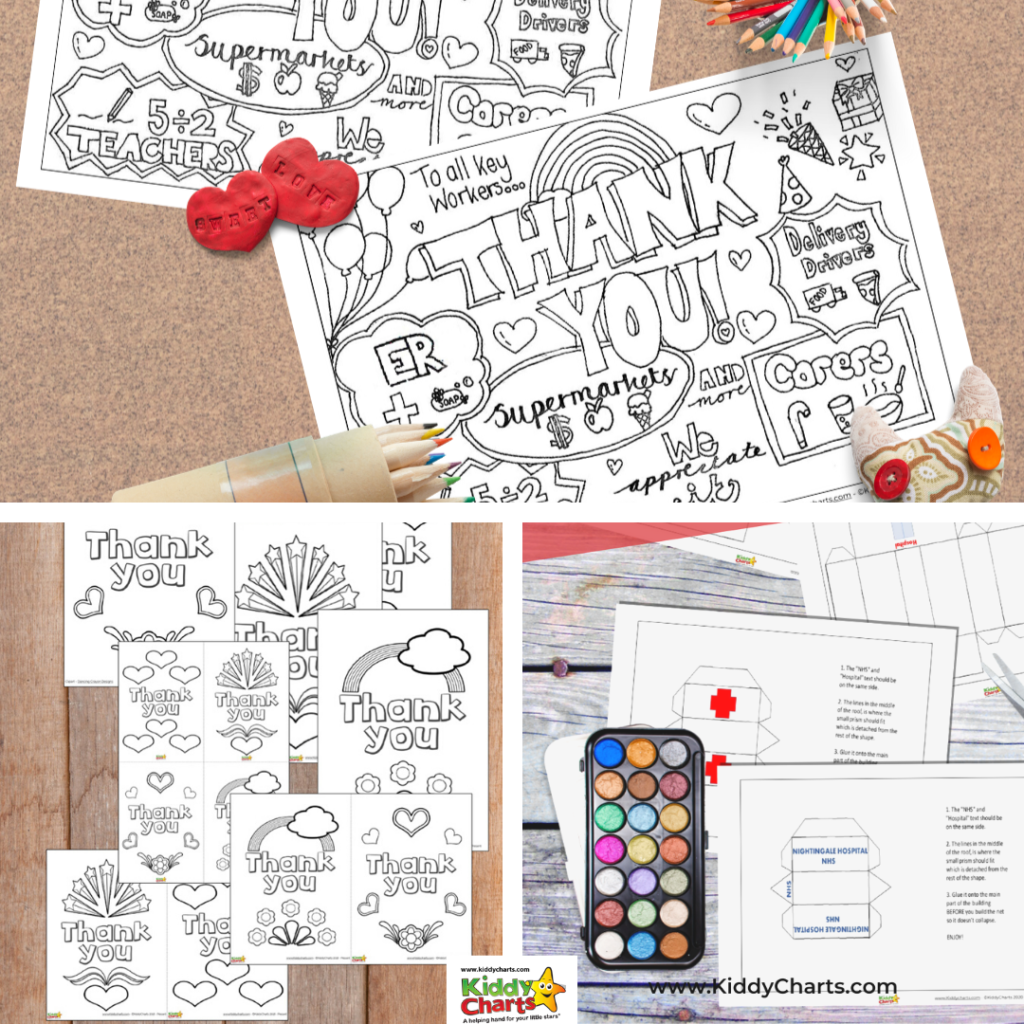 25 key worker appreciation activities to do with kids