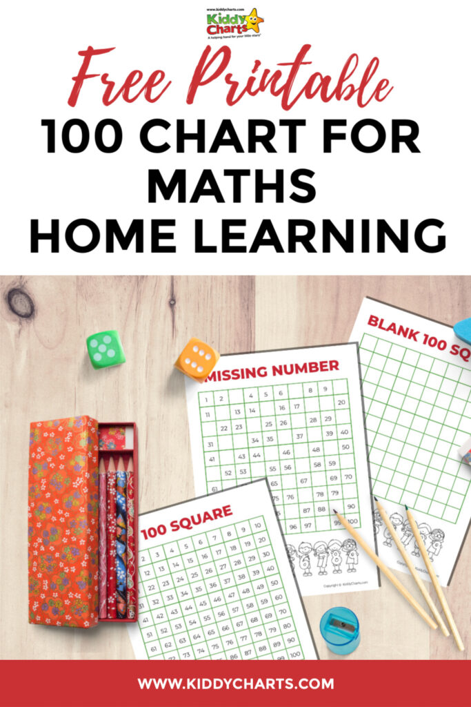 100 square chart activities